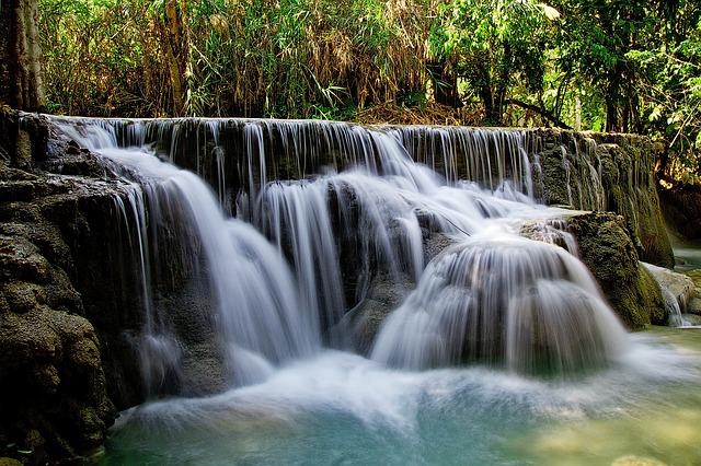 kuang si Falls Luag Prabang