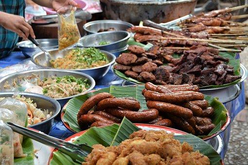 luang prabang markt essen 1