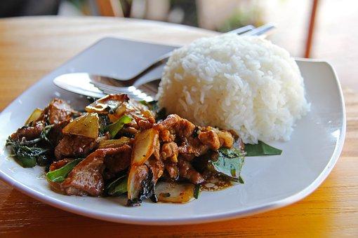 Luang Prabang Schweinefleich 1